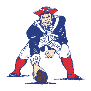 The Patriot Pat logo redesigned in-house, 1965.